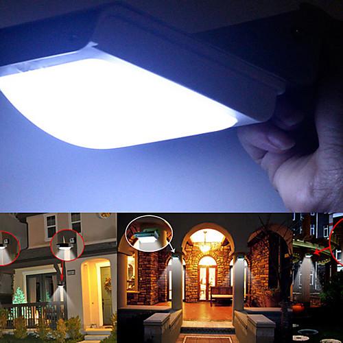 Светодиодная лампа на солнечной энергии для сада, с 16 лампами, и датчиком движения от MiniInTheBox.com INT