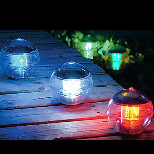 Светильник светодиодный шарообразный на солнечной батарее для бассейна