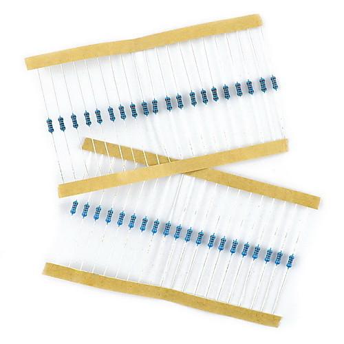 400pcs 1/4W резисторы сопротивление металла фильм  257.000