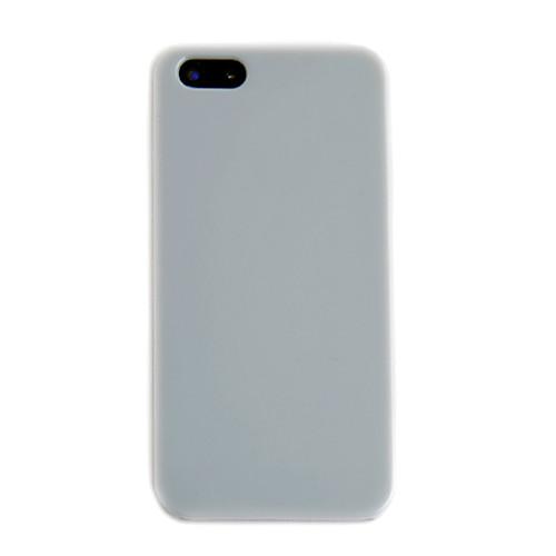 Простой случай задний материал для iPhone 5 (разных цветов)