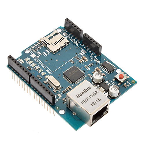 Ethernet Shield for Arduino Uno Mega, W5100