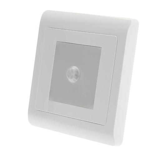0.6W 9x3528SMD 80-90LM теплый белый свет Светодиодные лампы Датчик (180-240V)