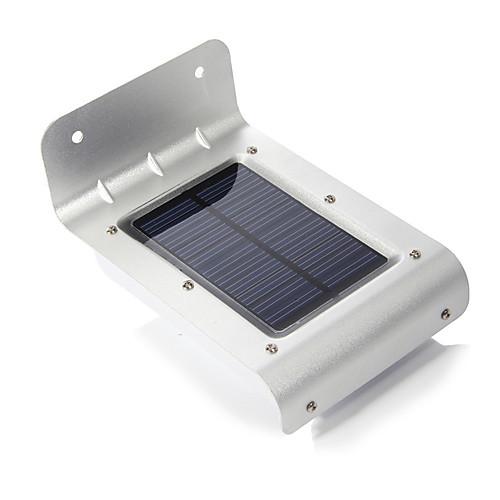 Открытый солнечной энергии 16-LED датчик движения Детектор Безопасность Лампы Сад света