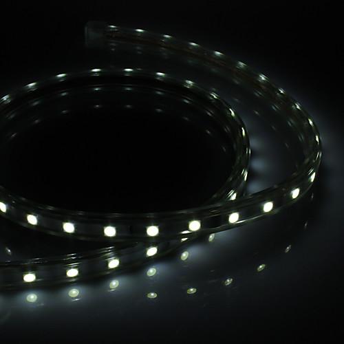 1m Гирлянды 60 светодиоды Белый Водонепроницаемый / 5050 SMD