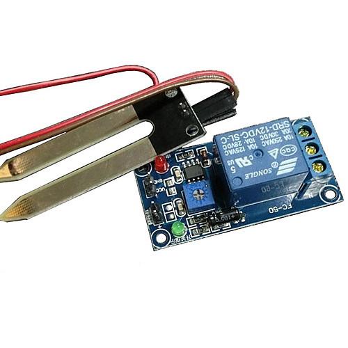 релейный модуль Датчик влажности влажность почвы реле почвы (для Arduino) умный автомобиль