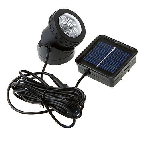 1шт Ночные светильники Работает от солнечной энергии Водонепроницаемый светильники