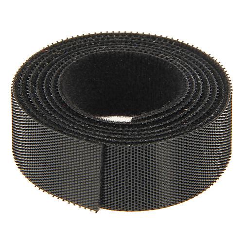 волшебная лента черного 100 м  20 мм для управления проводом