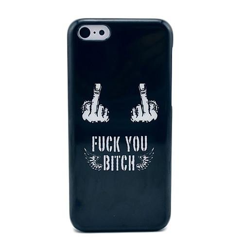 Fuck Off Case Black Hard для iPhone 5C