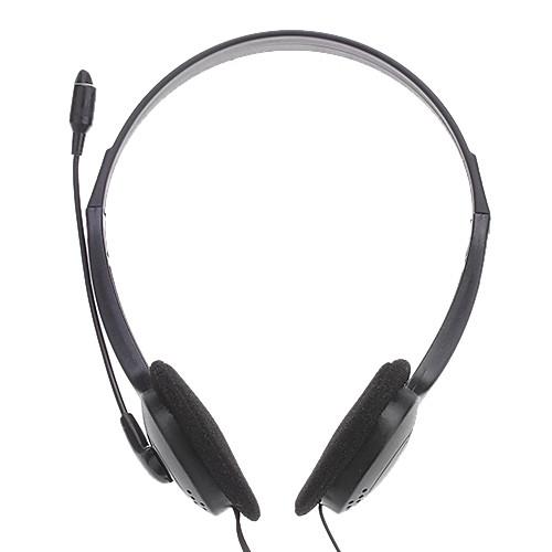 Наушники с микрофоном 3,5 мм стерео, Hi-Fi для ПК