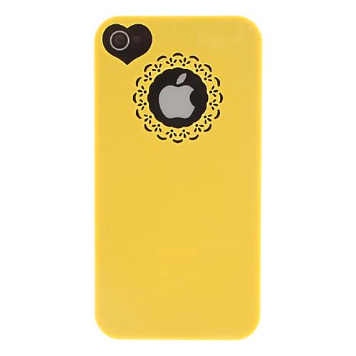 Кейс для Назначение iPhone 4/4S Apple Кейс на заднюю панель Твердый ПК для iPhone 4s/4