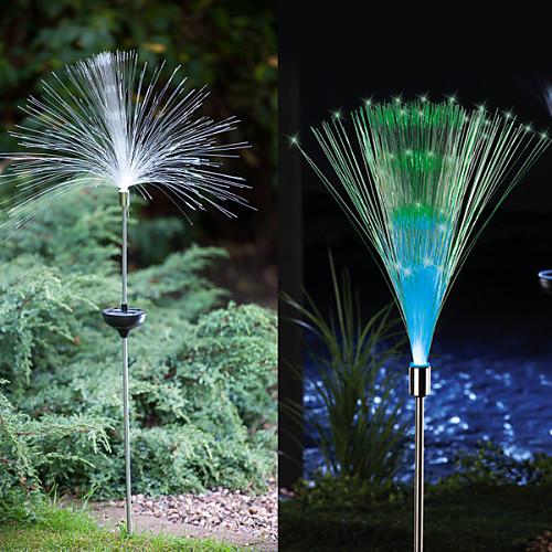 2pcs свет сада / Свет газонные 1 Светодиодные бусины Высокомощный LED Декоративная Разные цвета газонные смеси