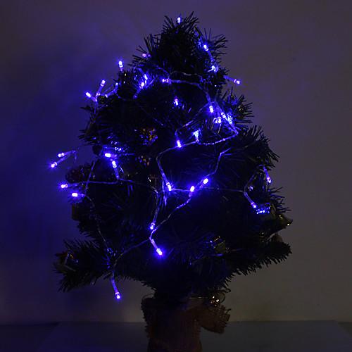 4м Гирлянды 40 светодиоды Синий