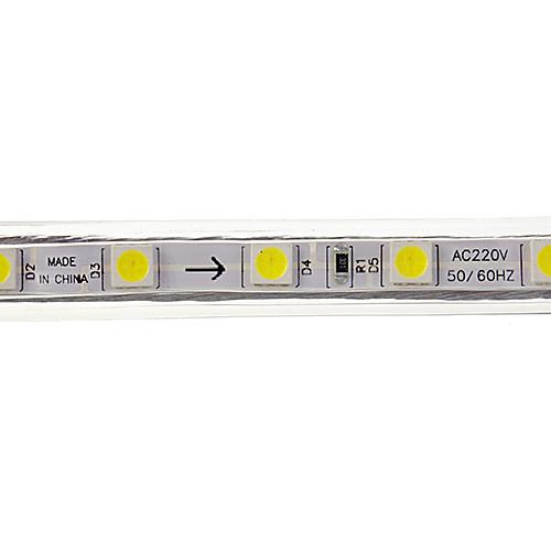Светодиодная лента, холодный белый свет, 2М, 20W 5050SMD 1400LM 6000K (220 В) от MiniInTheBox.com INT