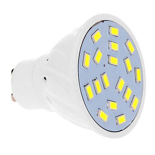 5 Вт. 450-550 lm GU10 Точечное LED освещение 18 светодиоды SMD 5630 Тёплый белый Холодный белый AC 220-240V от MiniInTheBox.com INT