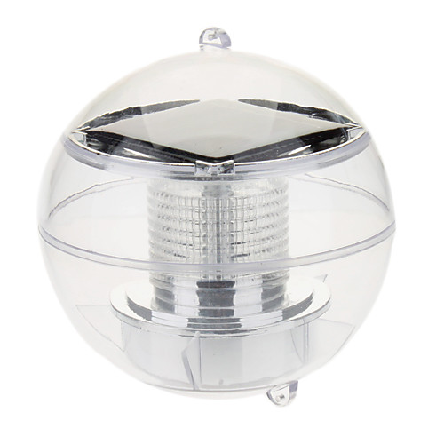 1-LED водонепроницаемый Красочные Свет светодиодных солнечный свет (1шт)