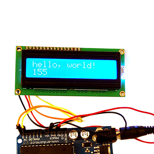 I2C LCD Display - Arduino-Boardcom