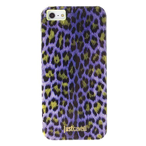 Модная картина Фиолетовый Leopard печати Гладкий Анти-шок чехол для iPhone 5/5S