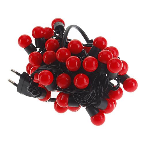 Гирлянды 50 светодиоды Красный 220.0