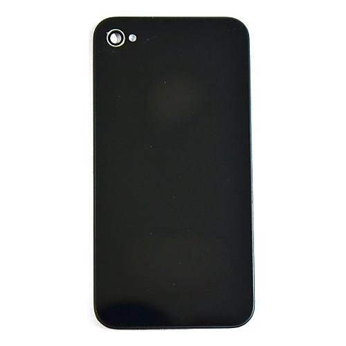 Сменная задняя крышка для IPhone 4 (черный) <br>