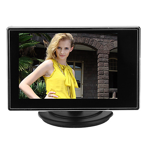 Инструмент 3.5 Inch TFT LCD Adjustable Monitor for CCTV Camera with AV RCA Video Sound Input для Безопасность системы 1514cm 0.121kg escam t10 10 inch tft lcd 1024x600 monitor