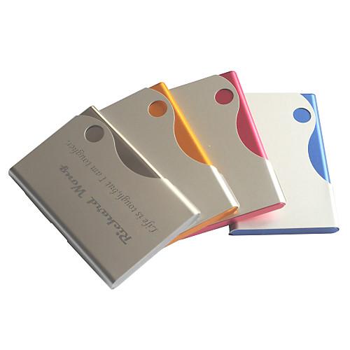 Держатель персонализированной отца подарок на день конфеты цвет выгравированы визитная карточка (ассорти цветов)