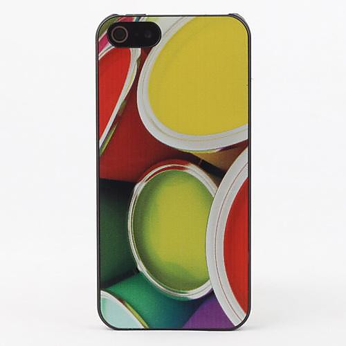 Красочные Дело Круг Защитные жесткие дело на iPhone 5/5S