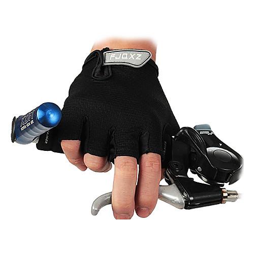 FJQXZ Спортивные перчатки Перчатки для велосипедистов Без пальцев Велосипедный спорт / Велоспорт Муж. Универсальные перчатки без пальцев шерстяные с рисунком розовые