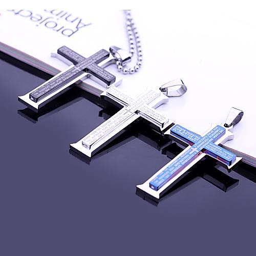 Персональный подарок Ожерелья Нержавеющая сталь Муж. Деловые Классика Любовь Праздник Подарок