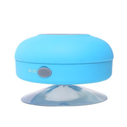 Sucker Speaker Водопад Bluetooth С микрофоном С регулятором звука Портативные Колонки Белый Черный Желтый Синий Розовый от MiniInTheBox.com INT