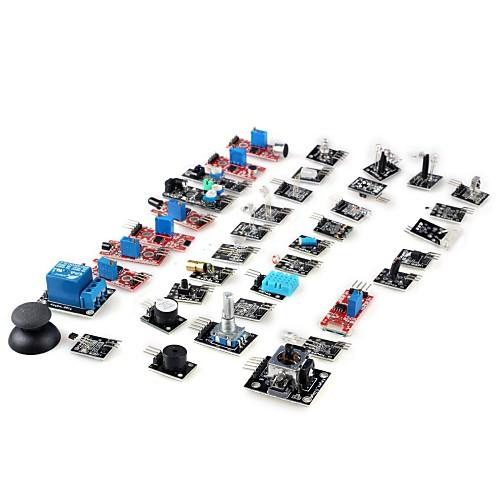 DIY Комплект 37-в-1 датчиков для Arduino (Работает с официальной платой) от MiniInTheBox.com INT