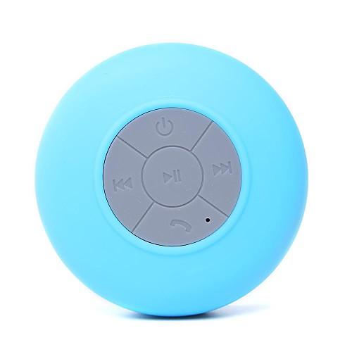 Купить со скидкой Sucker Speaker Водопад Bluetooth С микрофоном С регулятором звука Портативные Колонки Белый Черный Ж