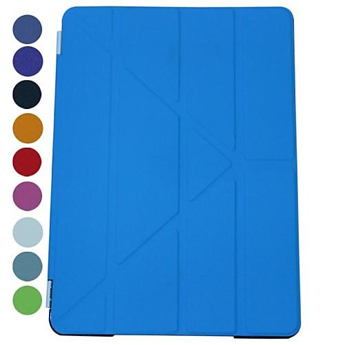 Специальное конструкторское Solid Color Деформация Сложите Съемная с Футляр Подставка для iPad2/3/4