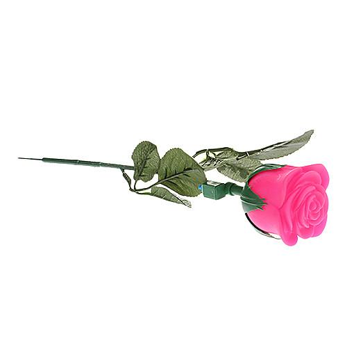 Буд Роза Shaped Красочный светодиодной Night Light с Отрасль (3xAG13)
