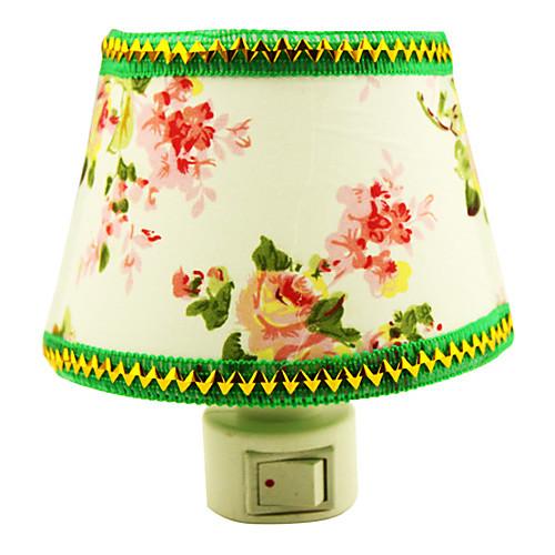10W Green Flower Ткань свет ночи СИД (AC110-240V)