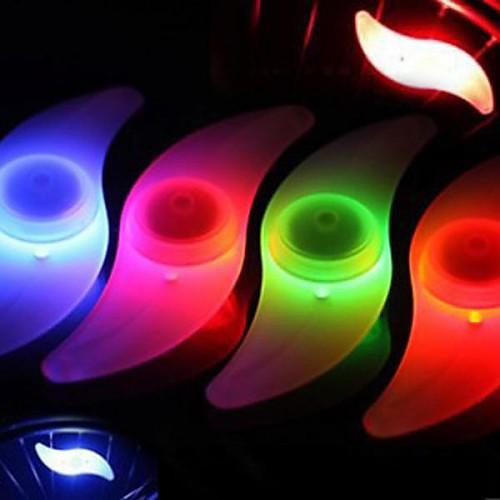 колесные огни / Велосипедные огни Светодиодная лампа Велоспорт Водонепроницаемый, Разные цвета Велосипедный спорт сигнализатор поклевки hoxwell hl75