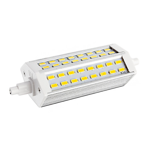 12W R7S LED лампы типа Корн T 48 SMD 5730 2400 lm Тёплый белый AC 220-240 V