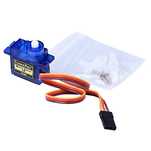 Сервоприводы с аксессуарами mini 9G - прозрачный синий (3шт.) от MiniInTheBox.com INT