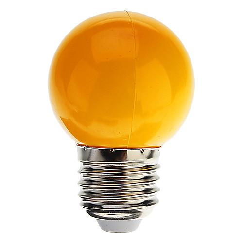 1pc 0.5 W LED Globe Bulbs 30 lm E26 / E27 G45 7 LED Beads Dip LED Decorative Cold White Red Blue 100-240 V / RoHS