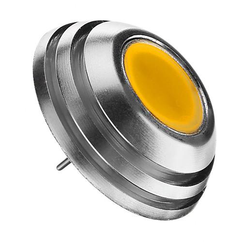 2 Вт. 3000 lm G4 Круглые LED лампы 1pcs светодиоды COB Декоративная Тёплый белый DC 12V