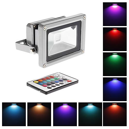 10W высокой мощности RGB свет потока СИД светильника с дистанционным управлением (220)