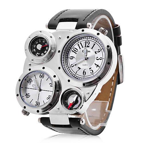 Кварцевые часы унисекс с несколькими циферблатами (разные цвета)  579.000