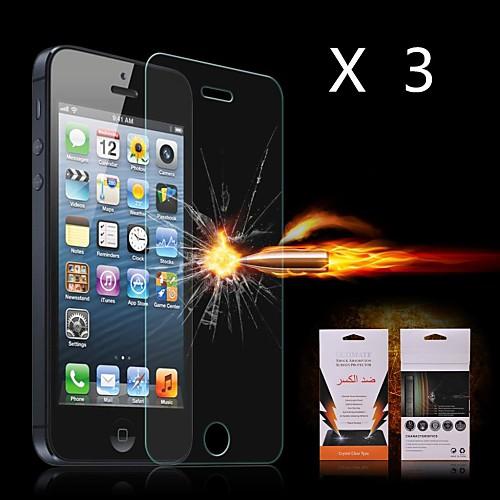 Защитная плёнка для экрана Apple для iPhone 6s iPhone 6 3 ед. Защитная пленка для экрана Взрывозащищенный