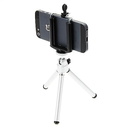 пластик 121mm Секции Сотовый телефон Цифровая камера Трипод сотовый