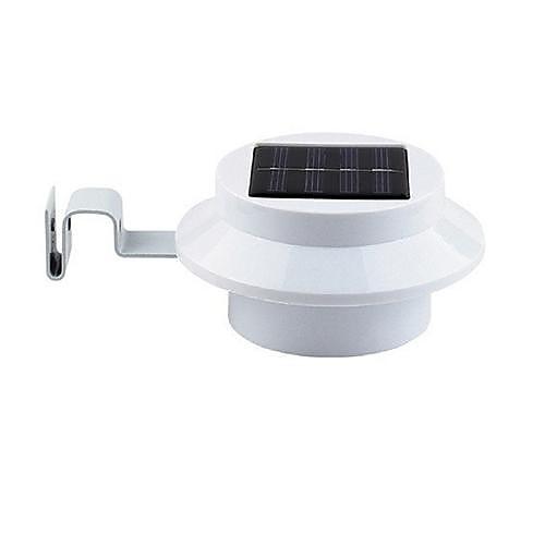 3 светодиодных солнечной водостоков безопасности Свет Солнечный сад лампы