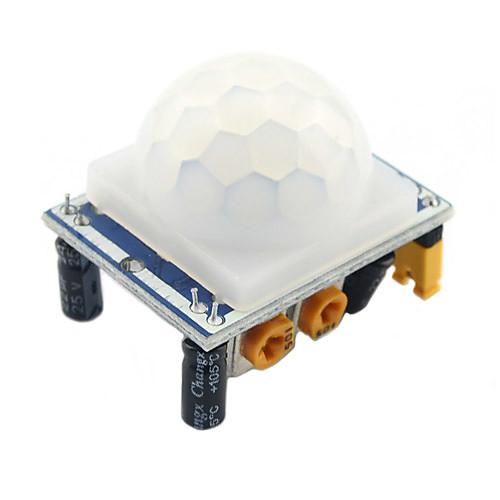 1шт высокое качество hcsr501 настроить инфракрасный датчик движения датчика движения пир от MiniInTheBox.com INT