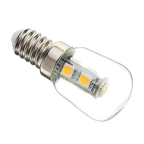 1 Вт. 60-70 lm E14 LED лампы типа Корн T 7 светодиоды SMD 5050 Декоративная Тёплый белый AC 220-240V