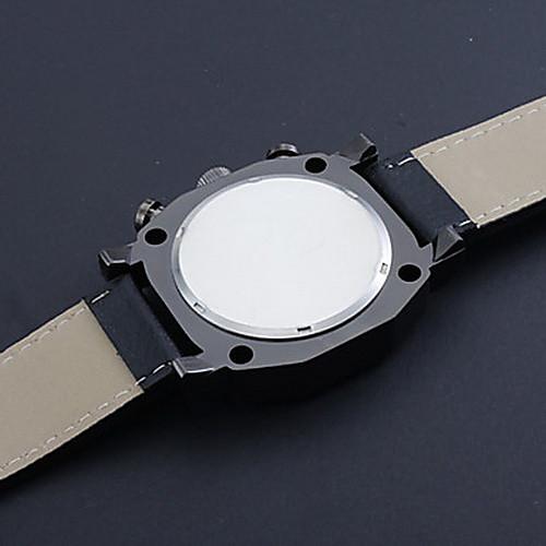 Мужской Наручные часы Японский кварц PU Группа Черный бренд- V6 от MiniInTheBox INT