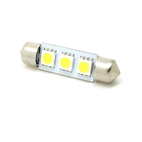 SO.K Фестон Автомобиль Лампы SMD 5050 50 lm Внутреннее освещение For Универсальный цена