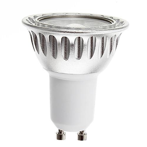 6w gu10 led spotlight 1 cob 250-300lm теплый белый dimmable ac 220-240 v от MiniInTheBox.com INT