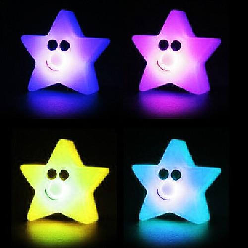 Звезда Rotocast Цвет меняющейся Night Light (случайный цвет)